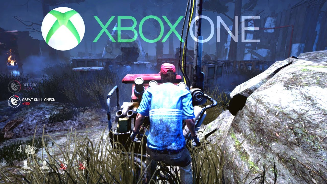 DEAD BY DAYLIGHT XBOX ONE GAMEPLAY!