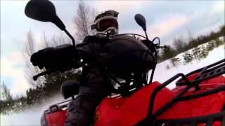 Kazuma Jaguar ATV500L esittelyvideo