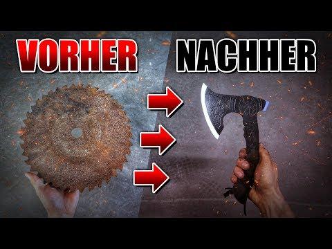 WURFAXT aus SÄGEBLATT selber bauen - DIY | Fritz Meinecke