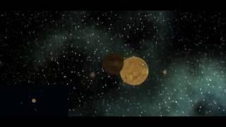 Simulación del sistema solar con Unity