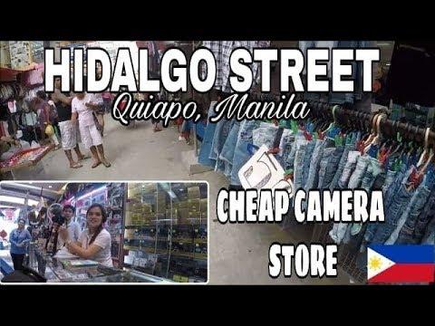 CHEAP CAMERA STORES AT HIDALGO QUIAPO MANILA