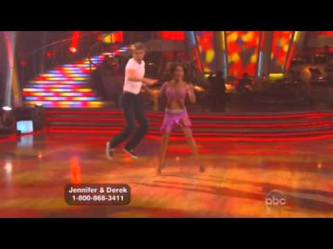 Jennifer Grey and Derek Hough Dancing with the stars  finale free style