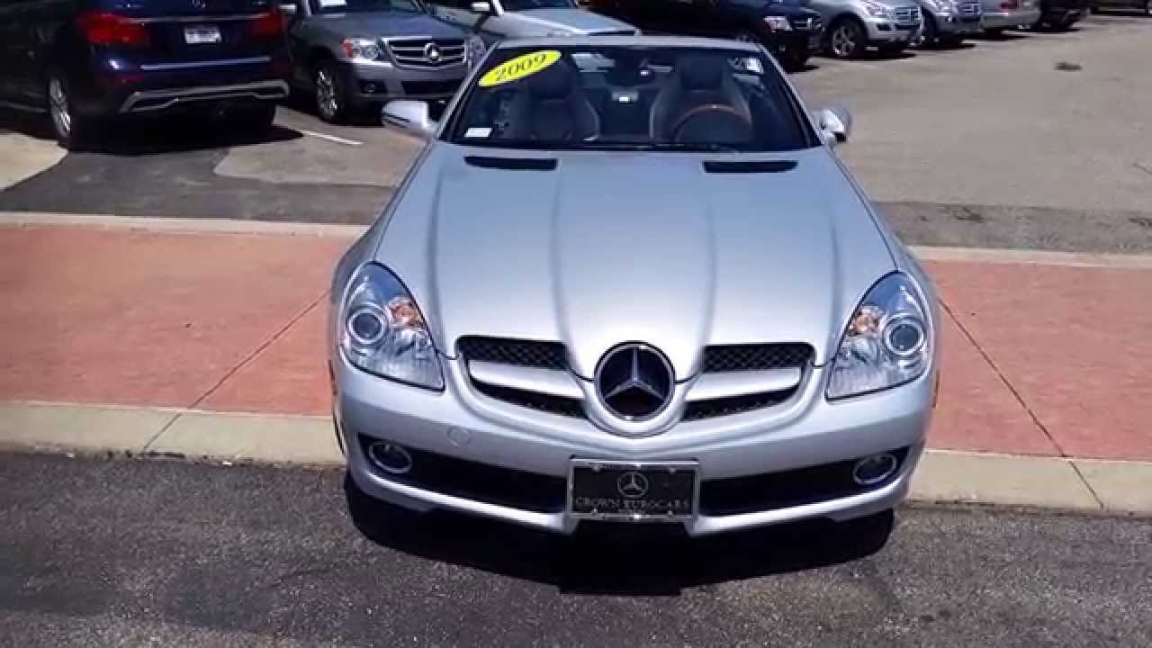 2009 mercedes benz slk 300 from crown mercedes benz of dublin oh live market price 27 500