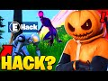 Can I HACK A BOT AS A SHADOW In Fortnite? (mythbusters)