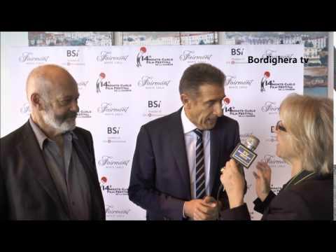 14° Monte Carlo Film Festival de la Comédie   breve intervista a Ezio Greggio   01 03 2017