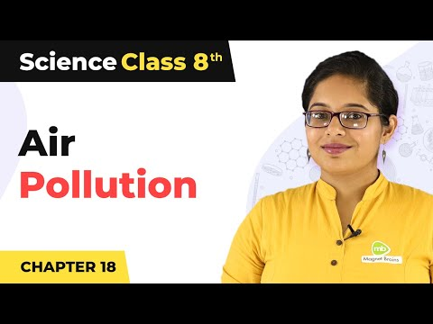 Air Pollution | Pollution Of Air And Water | Class 8th | Sceince | In Hindi