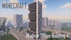 Minecraft Modern Office Building/Skyscraper 4 (full interior) + Download