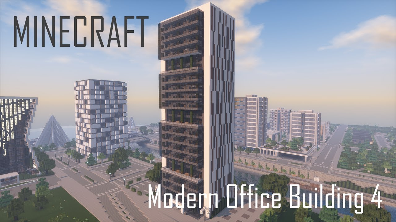 Minecraft Modern Office Building Skyscraper 4 Full Make Your Own Beautiful  HD Wallpapers, Images Over 1000+ [ralydesign.ml]