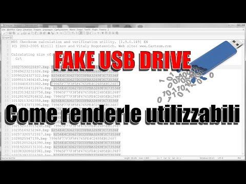 Chiavette USB false - Come renderle utilizzabili