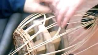 Мастер класс по лозоплетению корзины с ажуром