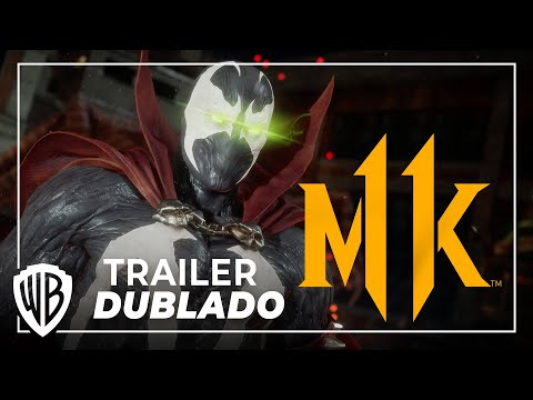Mortal Kombat 11 Pacote de Kombate - Spawn (Trailer Oficial Dublado PT-BR)