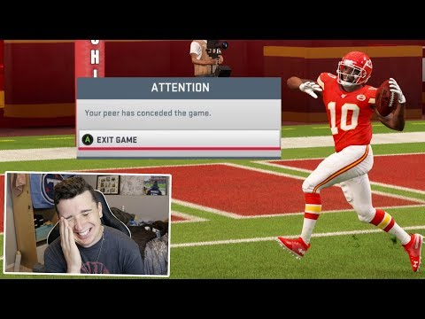 I ran a 1 Play TD Glitch against my friend, and he lost his mind & Quit!