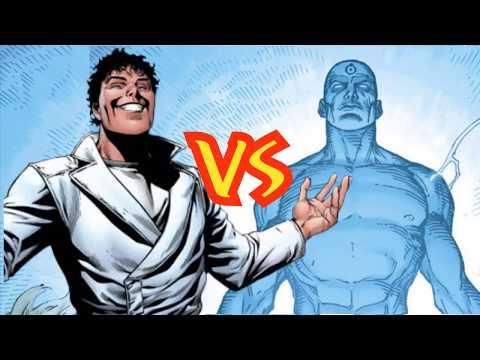 DOCTOR MANHATTAN vs BEYONDER - alejozaaap - marvel dc comics