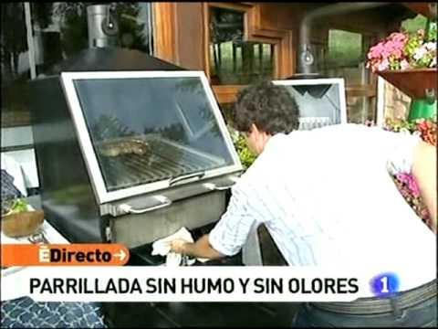 Parrilla cerrada sin humos grill barbacoa youtube - Barbacoa sin humo ...
