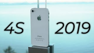 using the iPhone 4S in 2019 - Review