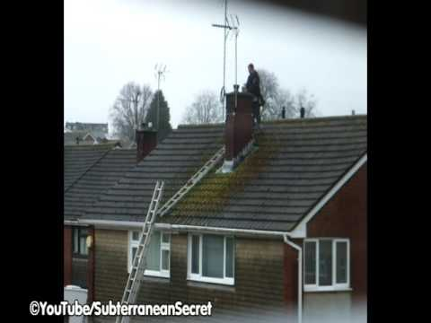 Installing A Outdoor Television Aerial To A Chimney Stack