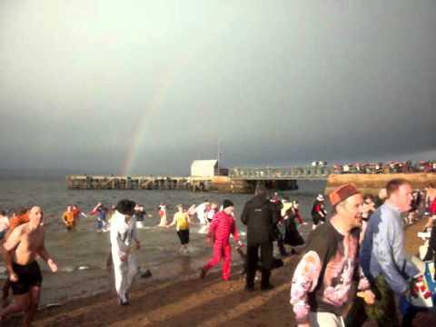 Cromarty splash & dash 1st jan 2012