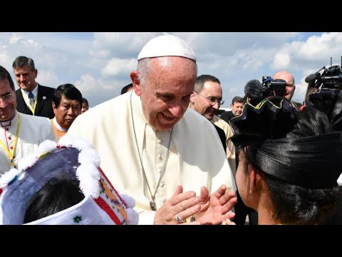 Pope Francis addresses crisis in Myanmar