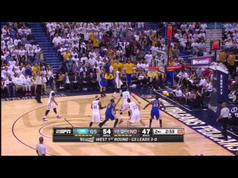 Warriors vs Pelicans - Full Game Highlights | Game 4 | April 25, 2015 | 2015 NBA Playoffs