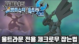 포켓몬스터 울트라문 전용 전설 제크로무 잡는법! 김용녀 포켓몬 울트라썬문 (Pokémon Ultra Sun Moon)