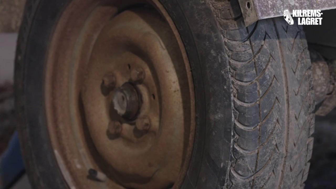 Fantastisk Del 1 - Kontrollera om hjullagren till släp är dåliga - YouTube SD-02