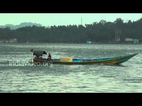 Engine sound of a Motorboat