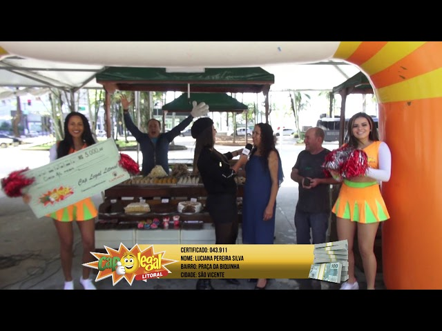 Luciana Silva, da Praia Grande, ganhou 5 Mil Reais
