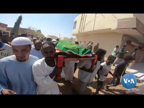 Protesters in Sudan Demand Civilian Government