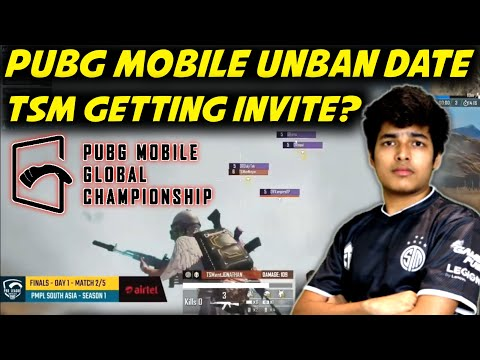 Pubg Mobile India Unban Date   is Tsm-Entity Getting Direct Invitation For #PMGC?