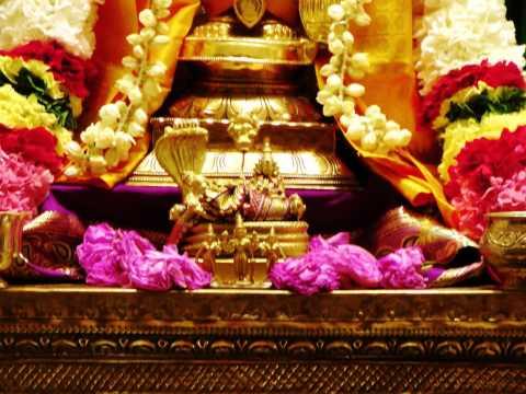 "Carnatic Krithi on Kshetra Srirangam (Lord Ranganatha) - ""En Palli Kondeerayya"" (Arunachala Kavi)"