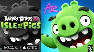 【Angry Birds AR: Isle of Pigs】Gameplay Android / iOS