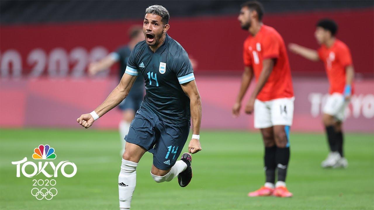 Tokyo Olympics 2021 men's soccer schedule today: Egypt-Argentina ...