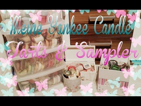 Meine Yankee Candle Tarts & Sampler