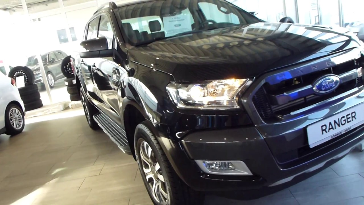 2017 ford ranger 4x4 39 39 wildtrak 39 39 exterior interior 3 2 td 200 hp 175 km h 109 mph playlist for Ford ranger wildtrak interior 2017