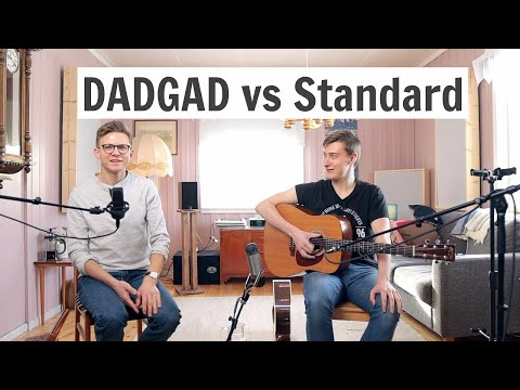 DADGAD Vs Standard Tuning For Irish Guitar