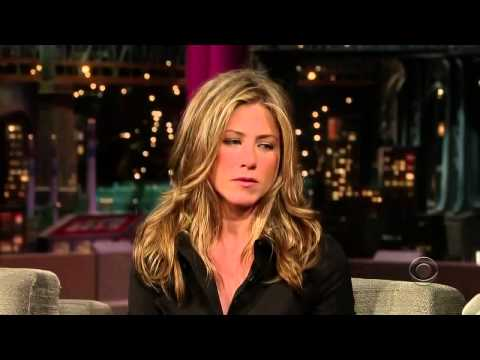 Jennifer Aniston David Letterman Full Interview