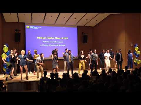 """Musical Theatre Class of 2019, """"The Victors"""" – Freshman Welcome Ceremony"""