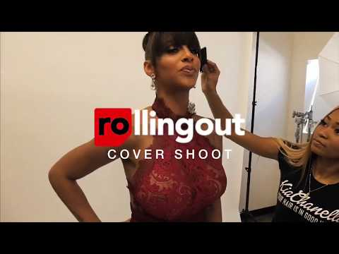 Rolling Out Photo Shoot: Crystal Smith feat. NE-YO Behind The Scenes