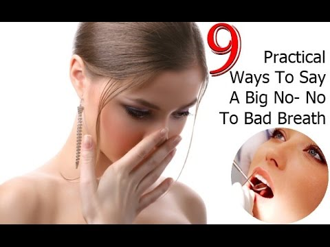 How To Get Rid of Bad Breath: Cure Halitosis ( Free Report)