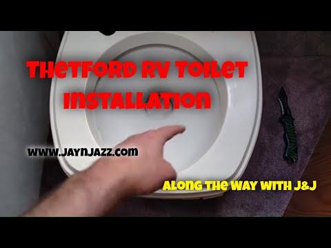 Thetford RV Toilet Installation