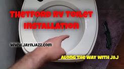 Thetford RV Toilet Installation - RV DIY - 🚽
