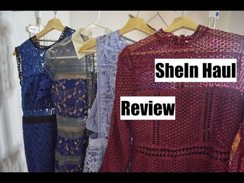 SHEIN CLOTHING HAUL | Review of clothes & jewellery from a Chinese website