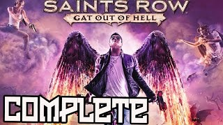Saint's Row Gat Out of Hell Full Game Walkthrough All Endings