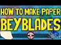 How to make a Paper Beyblade that spins fast Kids Crafts