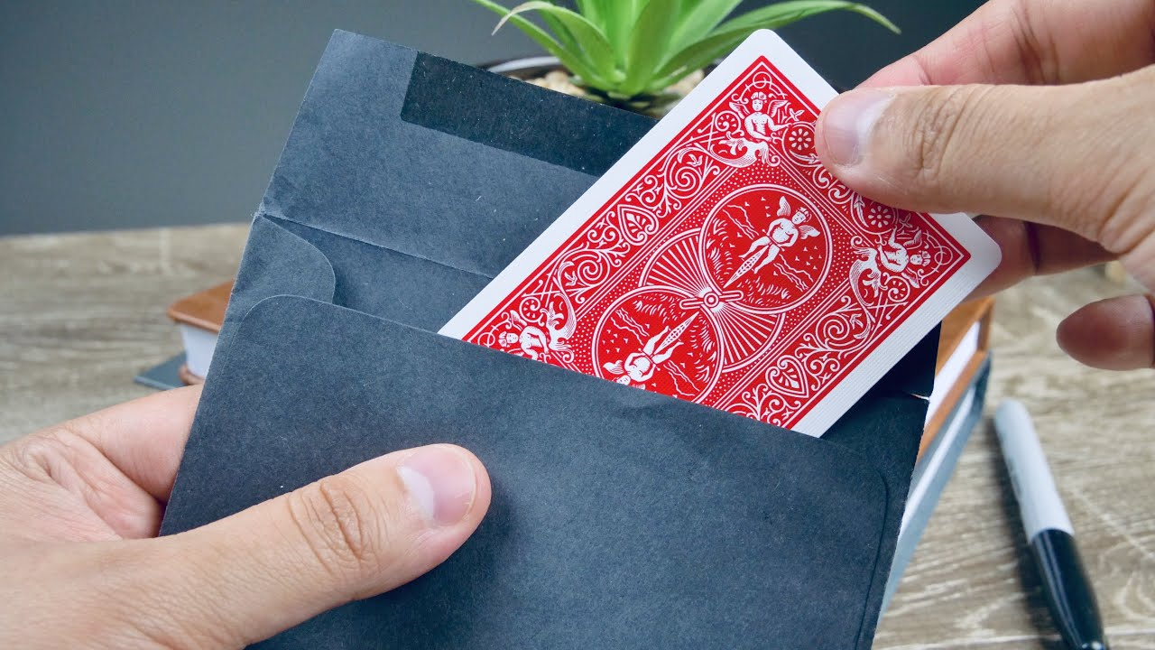 the stranger card trick  easy card trick tutorial  youtube