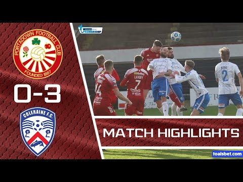 Portadown Coleraine Goals And Highlights
