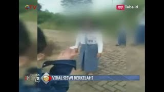 Miris!! Viral Video Aksi Kekerasan Siswi SMA yang Saling Pukul di Lampung - BIP 20/03