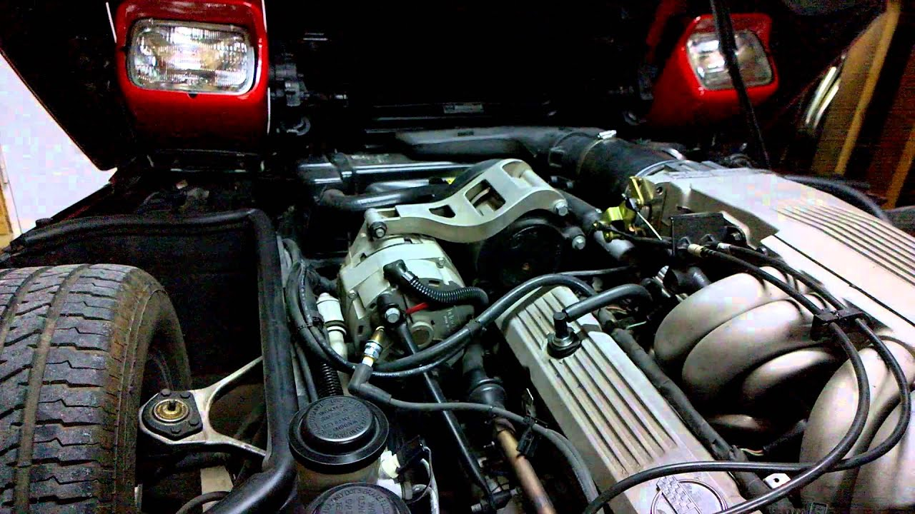 1985 corvette TPI no spark problem