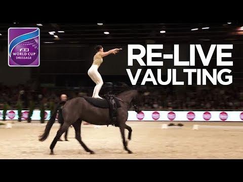 LIVE 🔴 | FEI World Cup™ Vaulting | Paris Horse Week