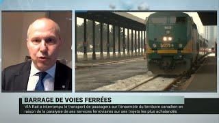 Blocus ferroviaires : les conséquences économiques se multiplient – Michel Leblanc